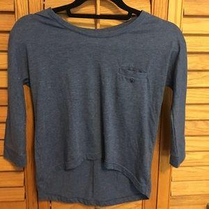 Dark blue T shirt
